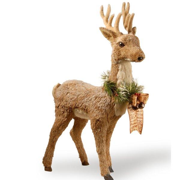 Standing Brown Deer by National Tree Co.