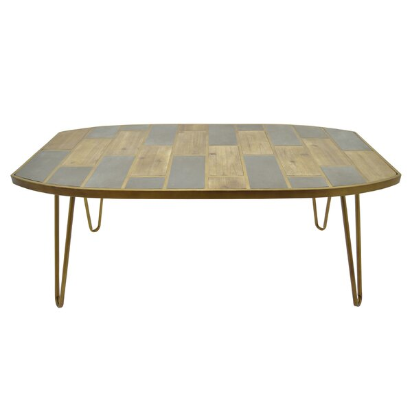 Distressed Wood Console Table by Foundry Select