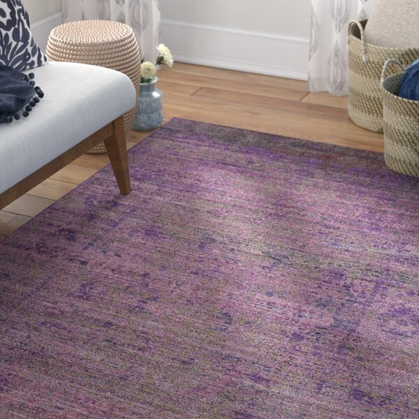 Doline Purple Area Rug by Mistana