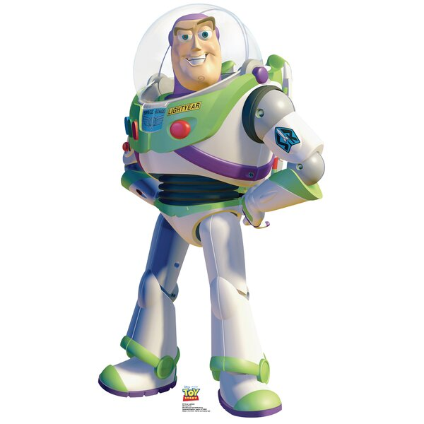 Disney Buzz Lightyear Toy Story Cardboard Stand Up by Advanced Graphics
