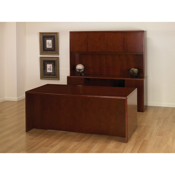 Jusino 2 piece Office Set with Hutch