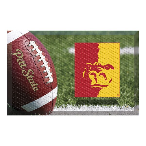 Pittsburg State University Doormat by FANMATS