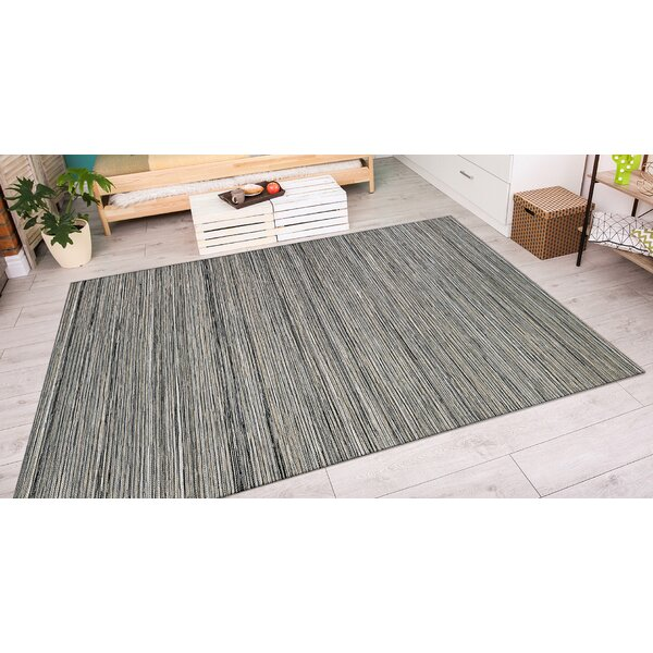 Mont Light Brown/Silver Indoor/Outdoor Area Rug by Three Posts