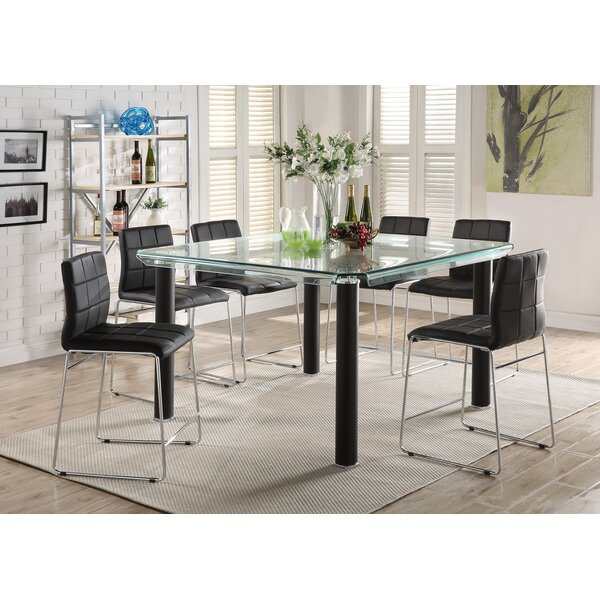 Len 7 Piece Dining Set by Orren Ellis