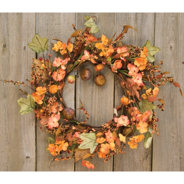 Pinto Garden Twig Wreath by The Holiday Aisle
