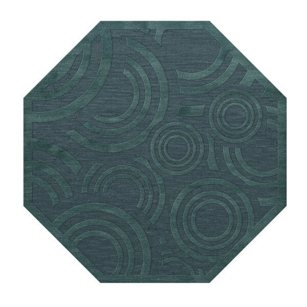 Dover Tufted Wool Teal Area Rug by Dalyn Rug Co.