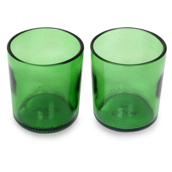 8 Oz. Juice Glass (Set of 2) by Novica