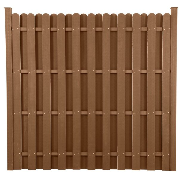 6 ft. H x 6 ft. W Classic Style Composite Fence Panel by EP Decking