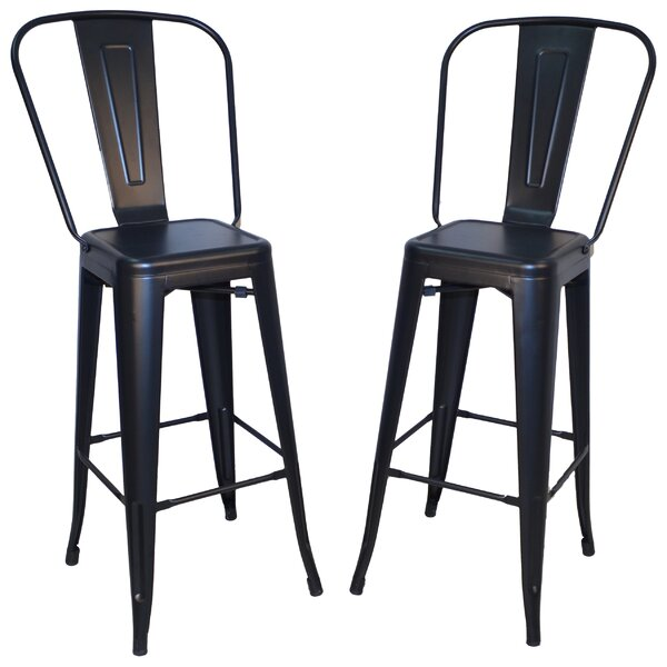 Cerisier 30 Bar Stool (Set of 2) by Laurel Foundry Modern Farmhouse
