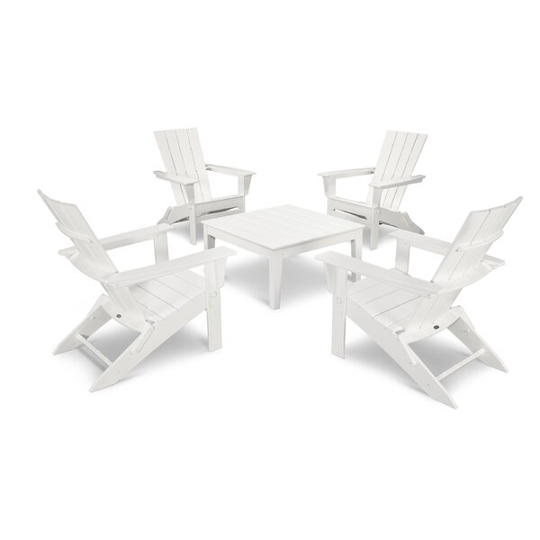 Quattro 5 Piece Multiple Chairs Seating Group by POLYWOOD POLYWOOD®