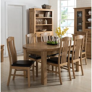 Canterbury Oval Extendable Dining Set With 6 Chairs