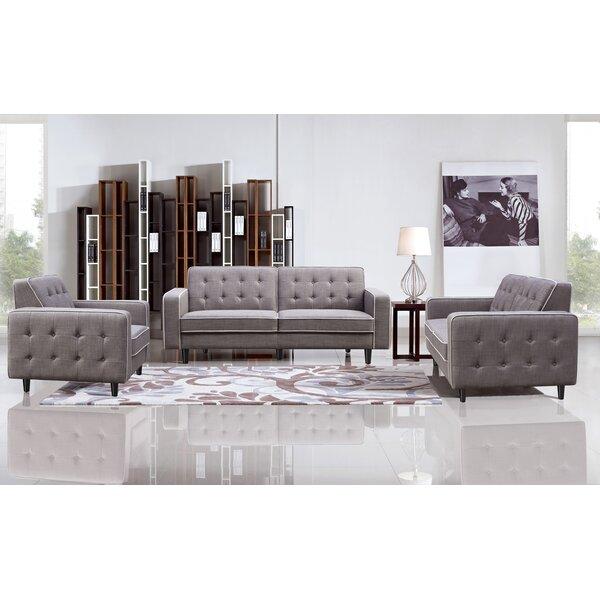 Benjamin 3 Piece Living Room Set by DG Casa