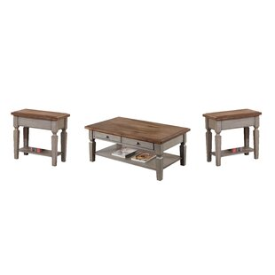 Find for Murtaugh 3 Piece Coffee Table Set By August Grove