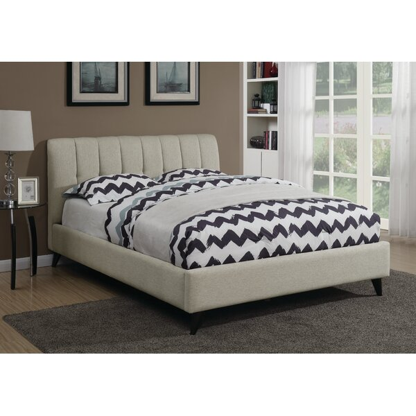 Highwood Upholstered Platform Bed by Brayden Studio
