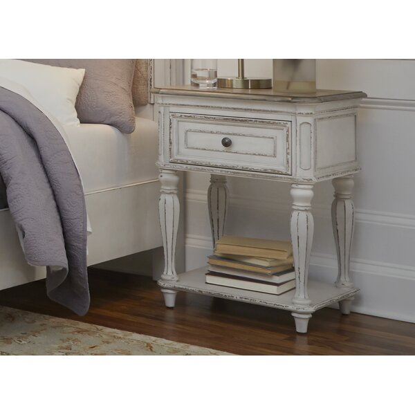 Treport 1 Drawer Night Stand by One Allium Way