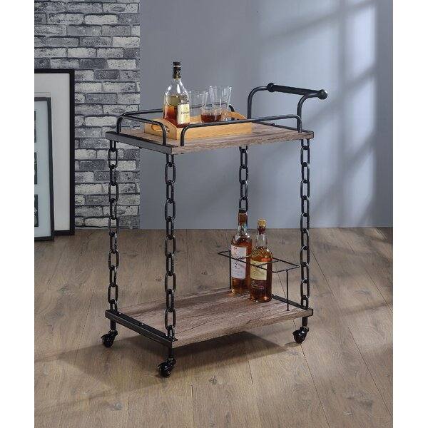 Sansom Bar Cart by Williston Forge