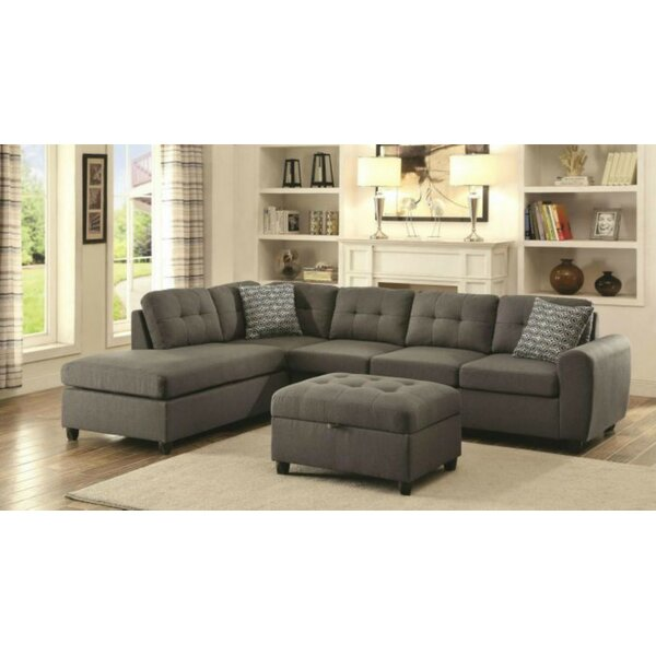 Swatzell Reversible Sectional by Red Barrel Studio