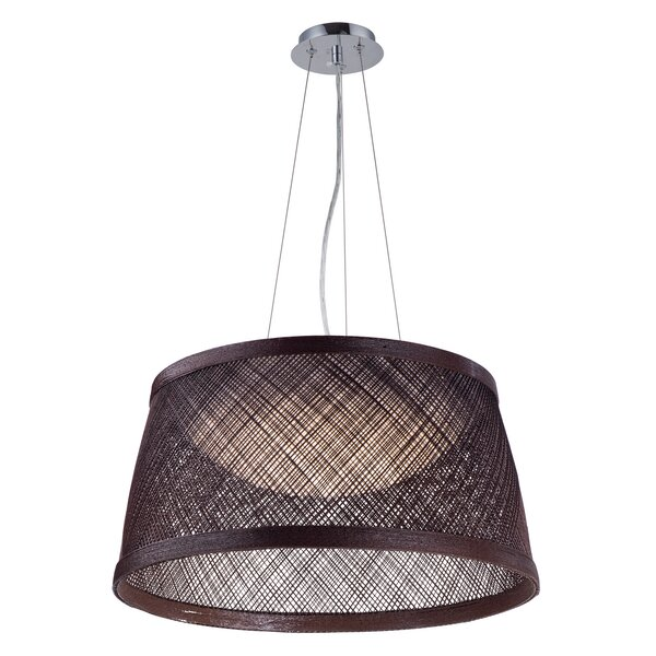 Carlisle 1-Light Cone Pendant by Bay Isle Home