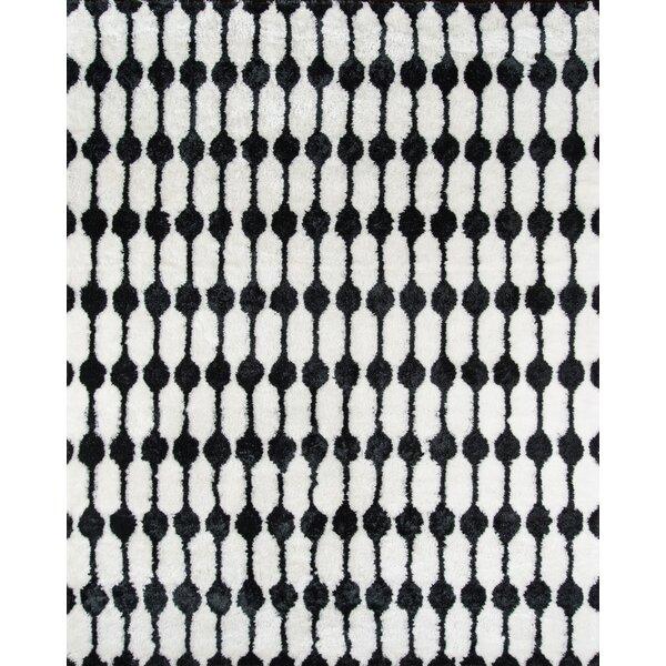Hand-Tufted Black/White Area Rug by Novogratz By Momeni