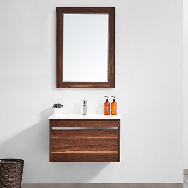 Adalynn 30 Single Bathroom Vanity with Mirror by Wrought Studio