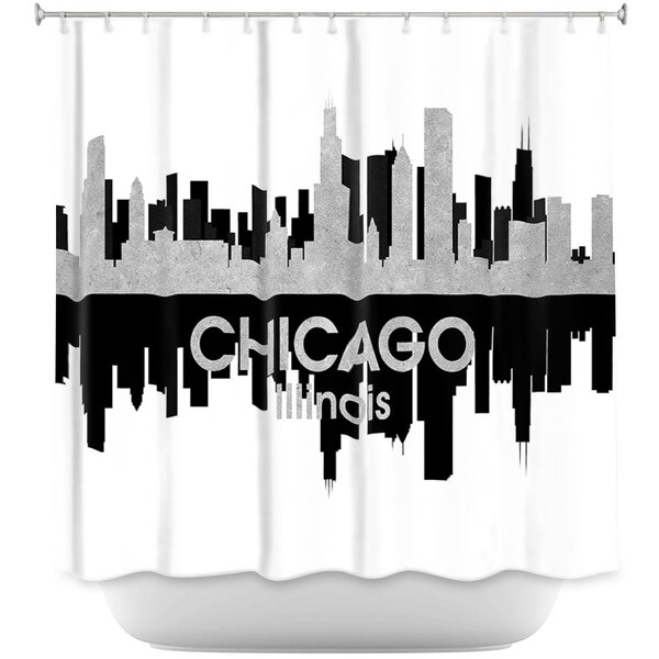 City IV Chicago Illinois Shower Curtain by East Urban Home