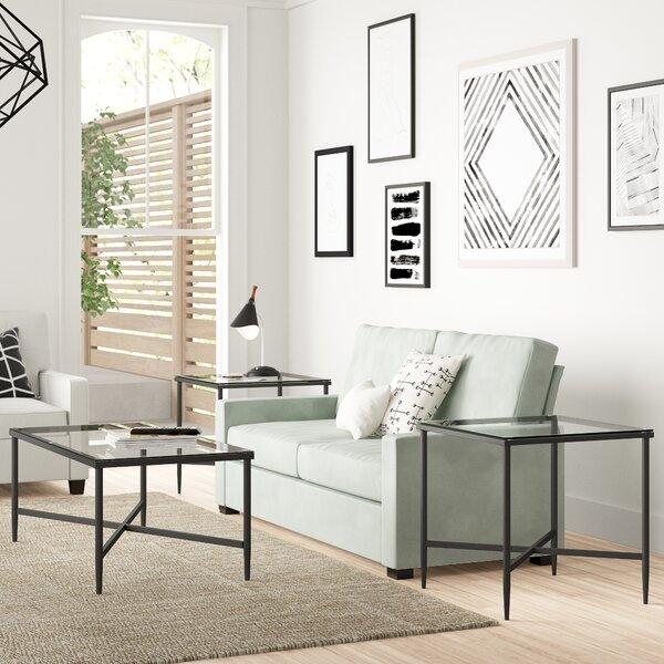 Melanie 3 Piece Coffee Table Set by Zipcode Design Zipcode Design