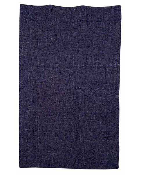Aronson Hand-Woven Blue Kids Rug by Harriet Bee