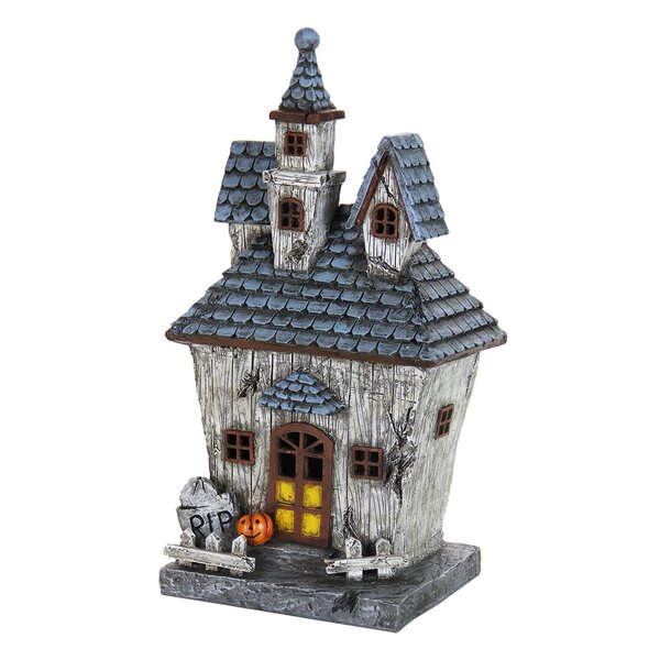 Halloween House with Timer by The Holiday Aisle
