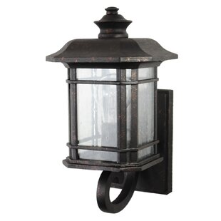 Falstaff 1-Light Outdoor Sconce By Charlton Home Outdoor Lighting