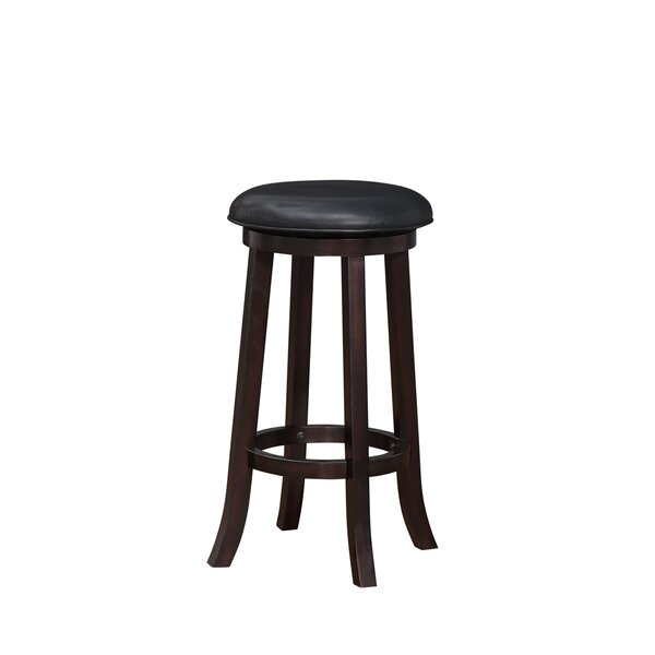 Linden Boulevard 29 Swivel Bar Stool by Darby Home Co