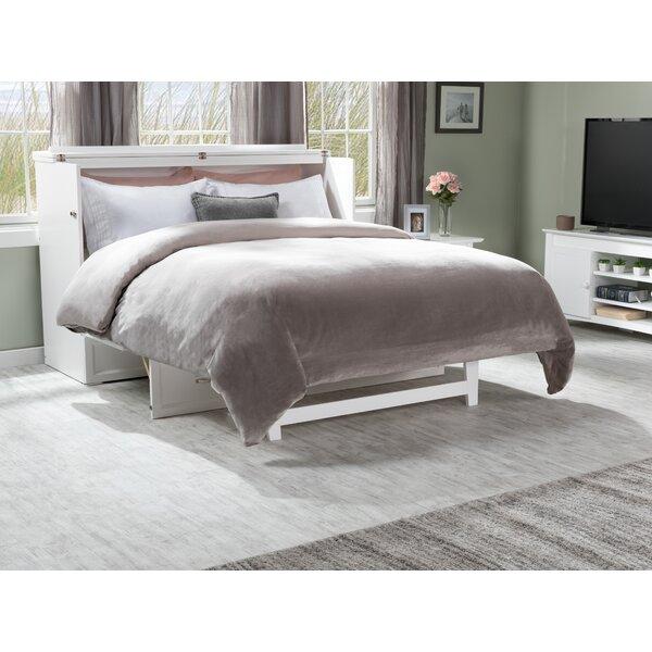 Kimsey Queen Storage Murphy Bed with Mattress by Red Barrel Studio