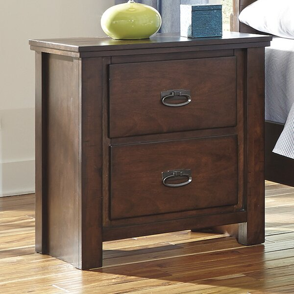 Mona 2 Drawer Nightstand by Viv + Rae