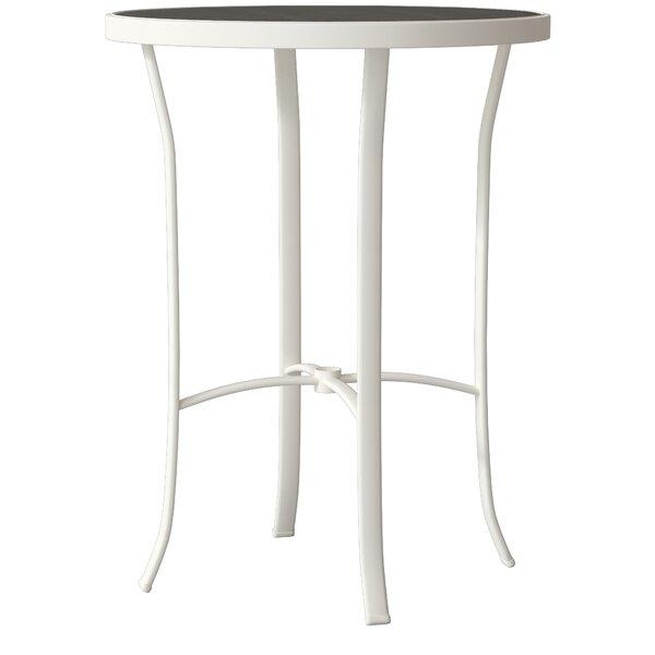 Raduno Round Alumium Bar Table by Tropitone