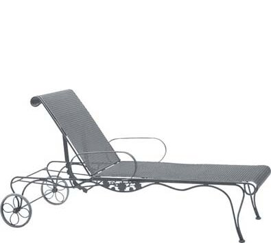 Briarwood Reclining Chaise Lounge by Woodard