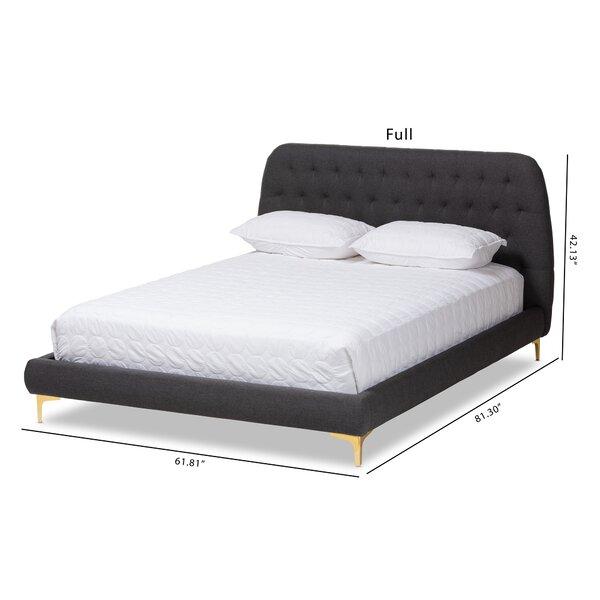 Commer Upholstered Platform Bed by Mercer41