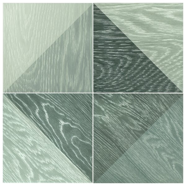 Bon Melange 6.5 x 6.5 Porcelain Field Tile in Black by EliteTile