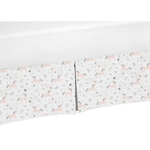 Unicorn Crib Skirt by Sweet Jojo Designs