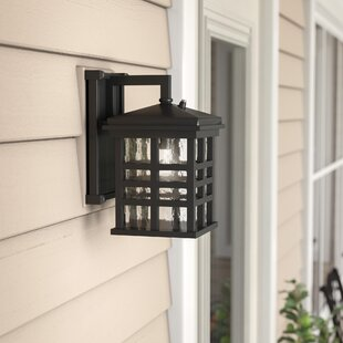 Inexpensive Thomsen Outdoor Wall Lantern with Motion Sensor By Three Posts