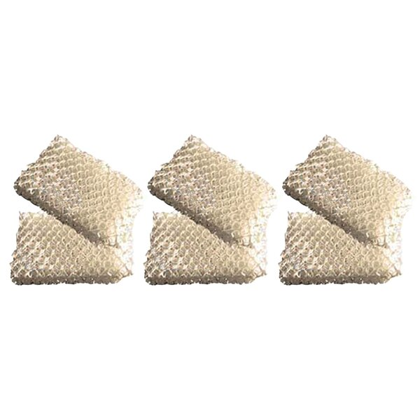 Humidifier Wick Air Filter (Set of 6) by Crucial
