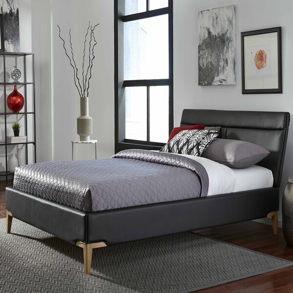 Leonide Upholstered Platform Bed by Everly Quinn