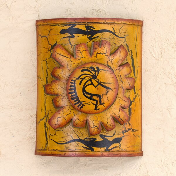 Song for the Sun Iron Sconce by Novica