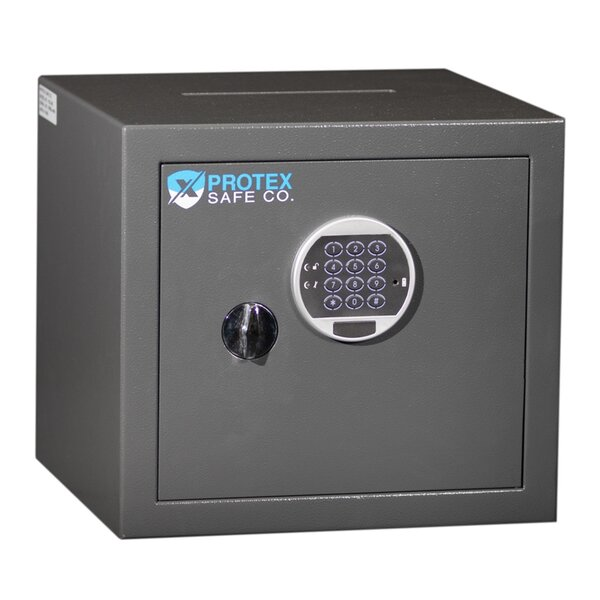 Top Drop Burglary Safe Box with Electronic Lock by Protex Safe Co.Top Drop Burglary Safe Box with Electronic Lock by Protex Safe Co.