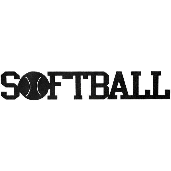 Softball Word Wall Décor by 7055 Inc