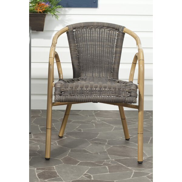 Damon Patio Arm Chair (Set of 2) by Safavieh