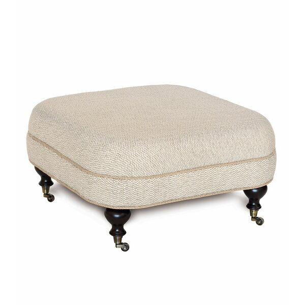 Silas Corfis Vanilla Cocktail Ottoman by Eastern Accents