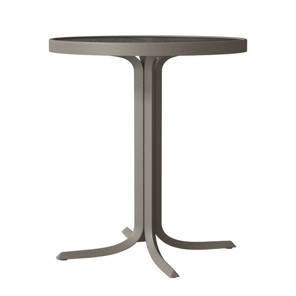 Valora Plastic/Resin Bar Table by Tropitone