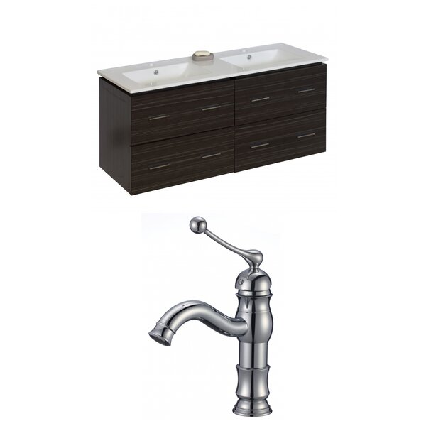 Kyra 48 Double Bathroom Vanity Set by Orren Ellis