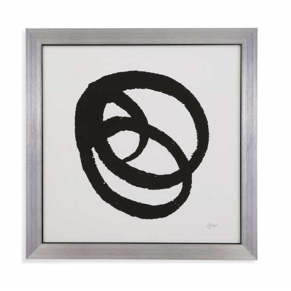 Kinetic IV Framed Painting Print by Wade Logan