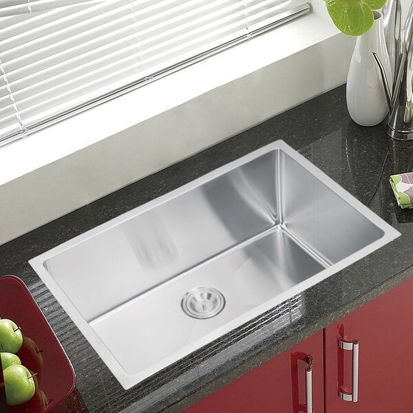 Brier Single Bowl Kitchen Sink by dCOR design