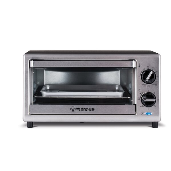 0.35 Cu. Ft. 4-Slice Toaster Oven by Westinghouse